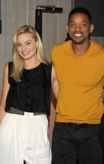 Will Smith attends a press conference for 'Focus' in Buenos Aires