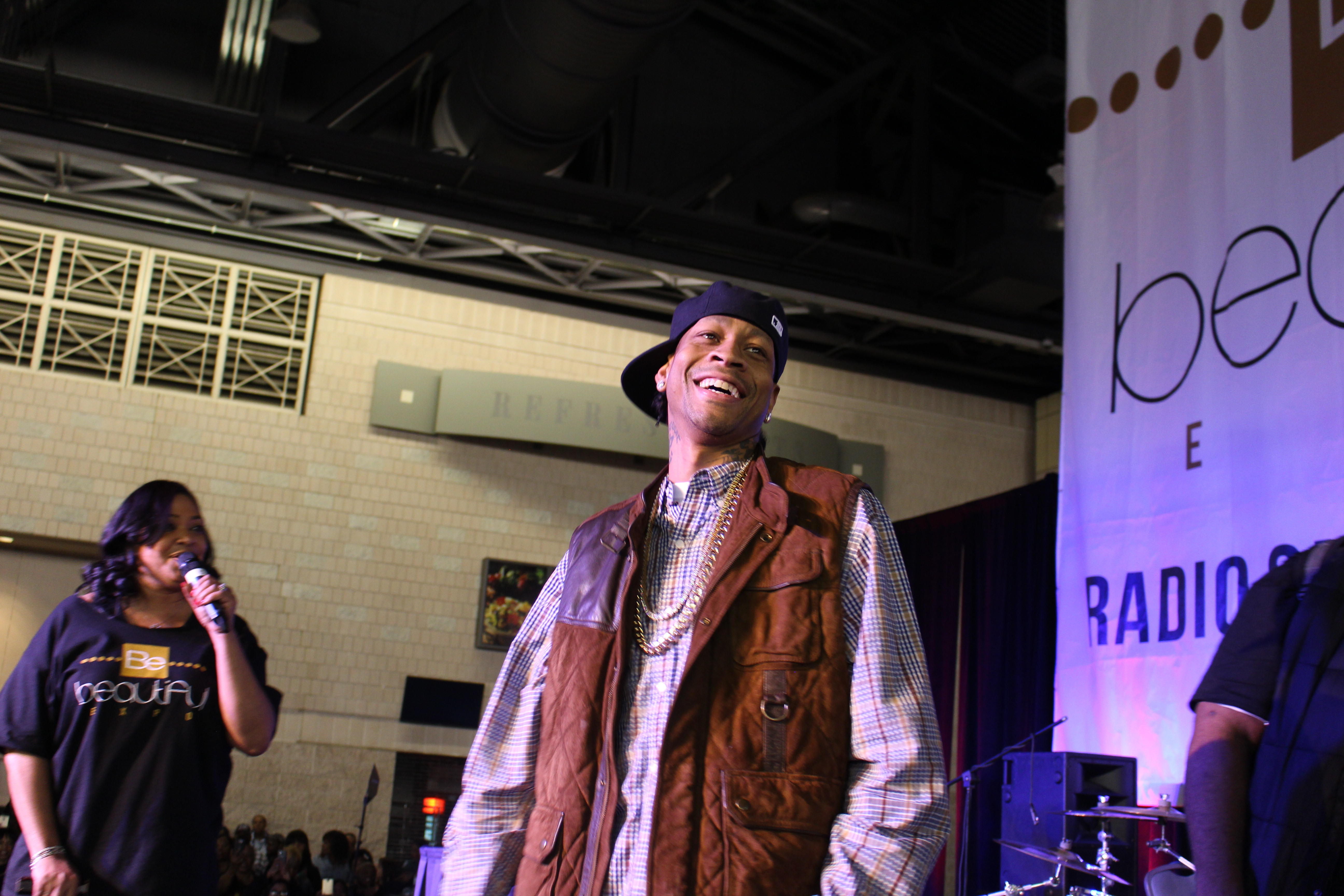 Allen Iverson Be Beautiful Expo 2015
