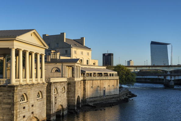 The Fairmount Water Works and Schuylkill River
