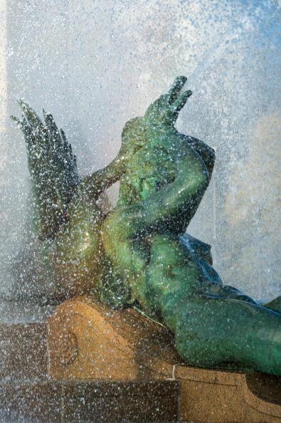Swann Fountain in Logan's Circle