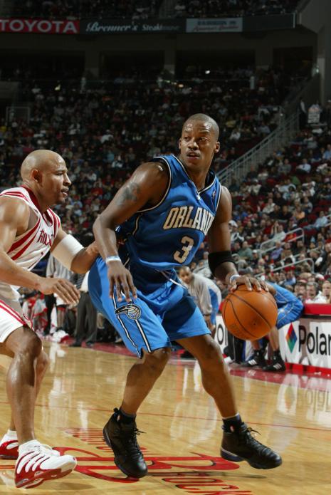 Orlando Magic Steve Francis against Houston Rockets David Wesley