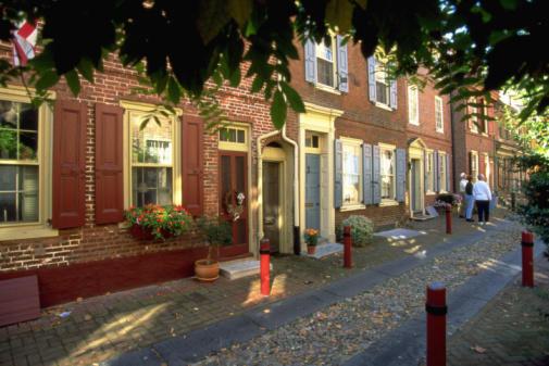 Elfreths Alley Old City, PA