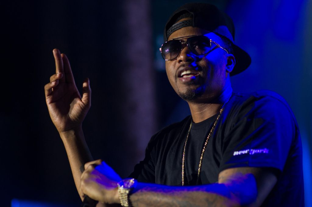 Nas Performs In Brisbane