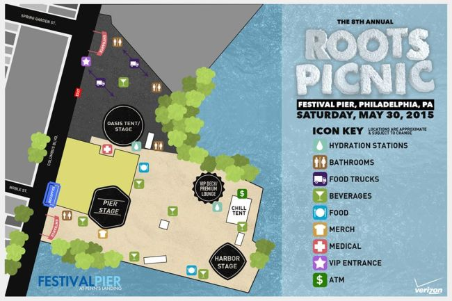 Roots Picnic Artist Set Times