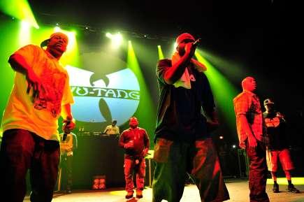 Wu-Tang Clan in concert