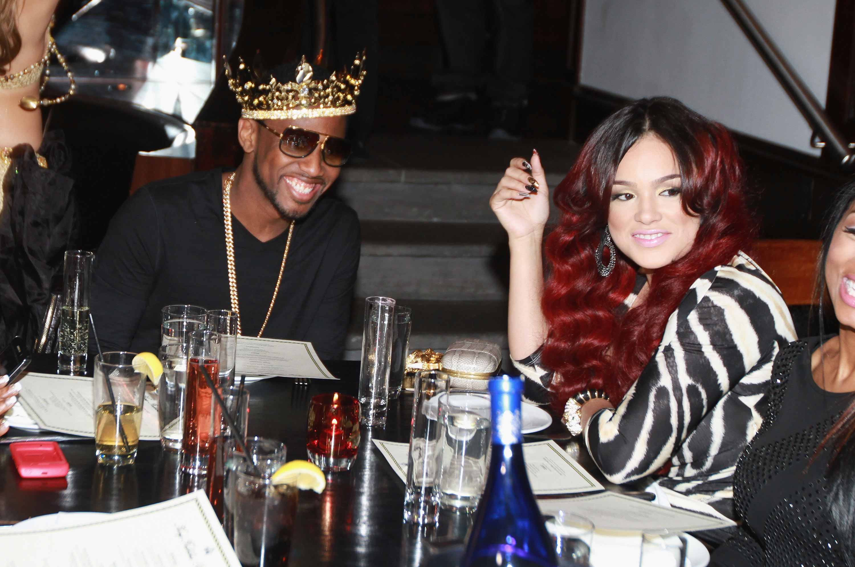 Fabolous' Private Birthday Dinner