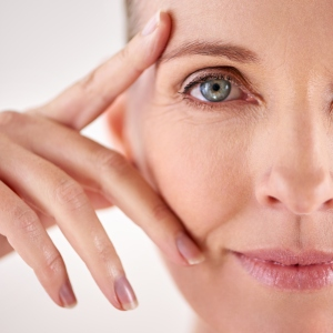 Impressed with the results of her anti-aging cream