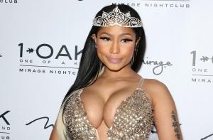 Nicki Minaj Hosts Halloween Haunted Funhouse At 1 OAK Nightclub In Las Vegas