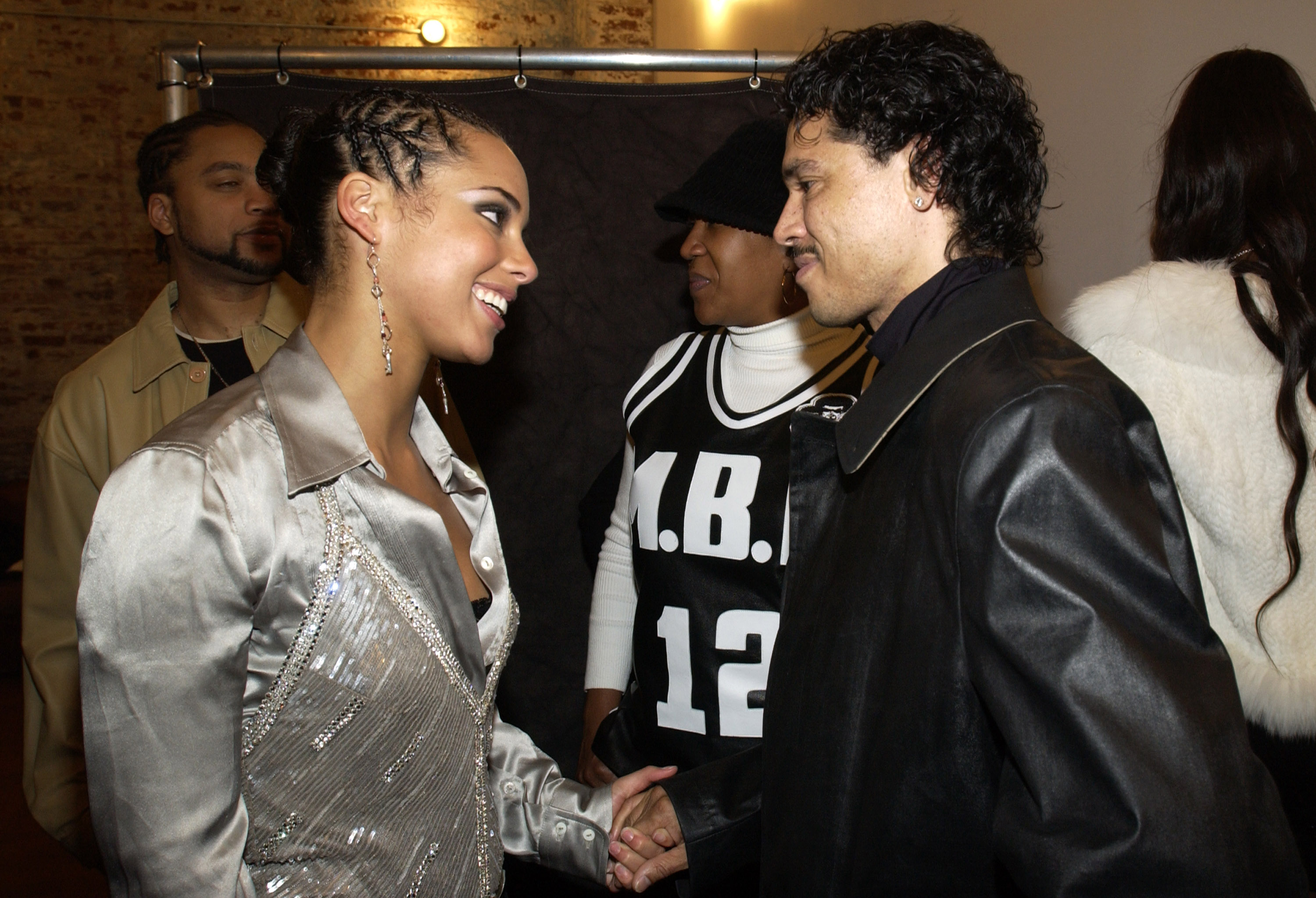 Alicia Keys Album Release Party at Industria in New York City, 2003