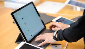 Apple's Ipad Pro on Sale in Tokyo