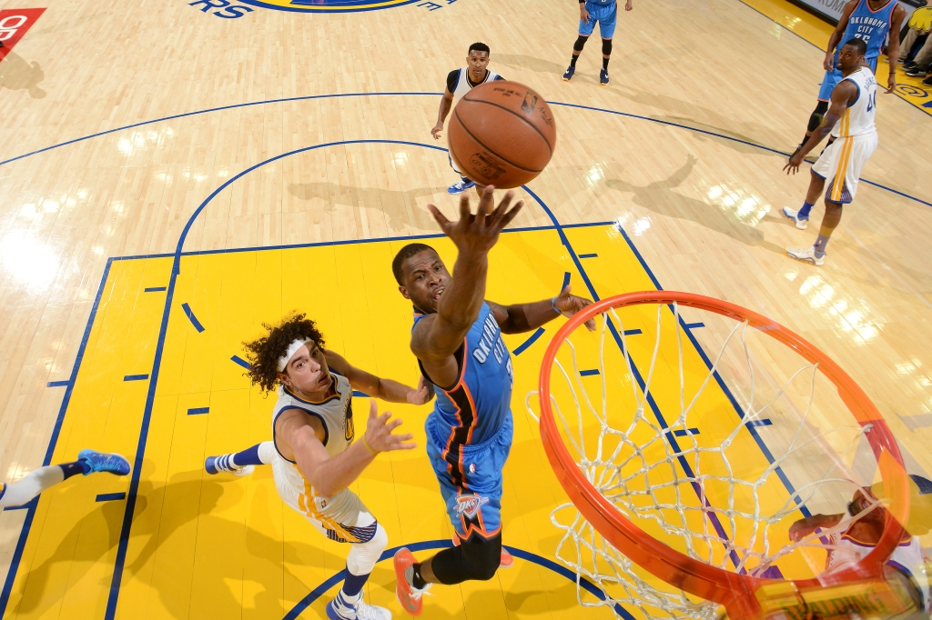 Oklahoma City Thunder v Golden State Warriors