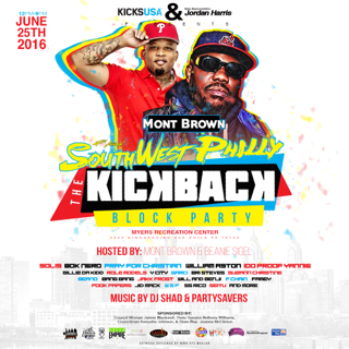 the 4th annual southwest philly kickback block party boom 103 9 philly