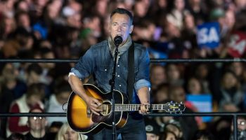 the Hillary Clinton 'Get Out The Vote' rally with Bruce Springsteen and Jon Bon Jovi