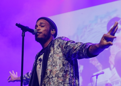 Anderson .Paak And The Free Nationals Perform At Vogue Theatre