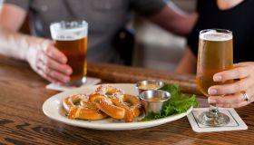 Pennsylvania soft Pretzels at Pub