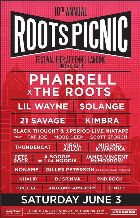 roots picnic 2017