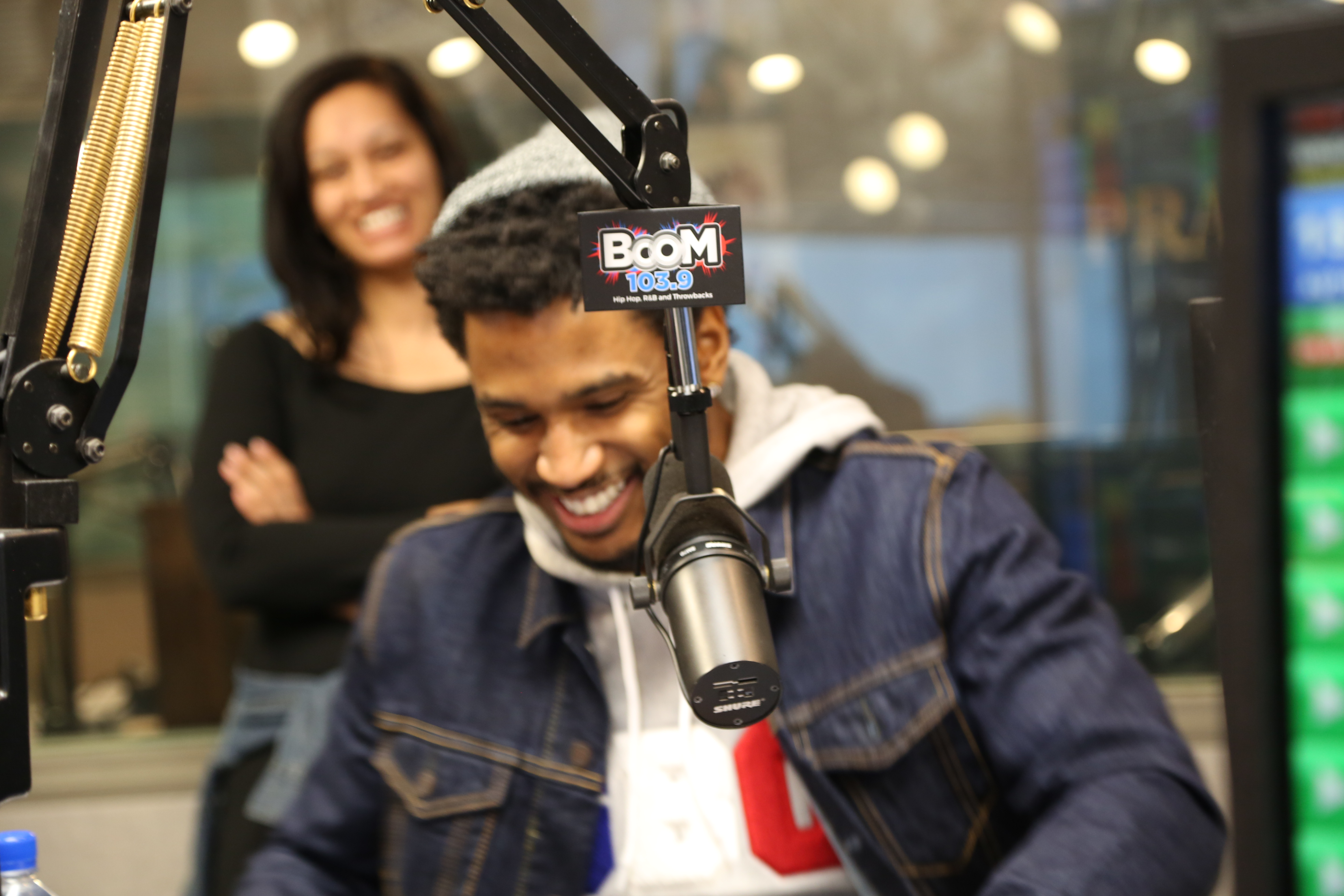 Trey Songz at Boom 103.9