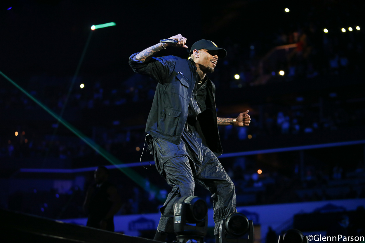 "Chris Brown Hits Charlotte for The ""Party"" Tour"