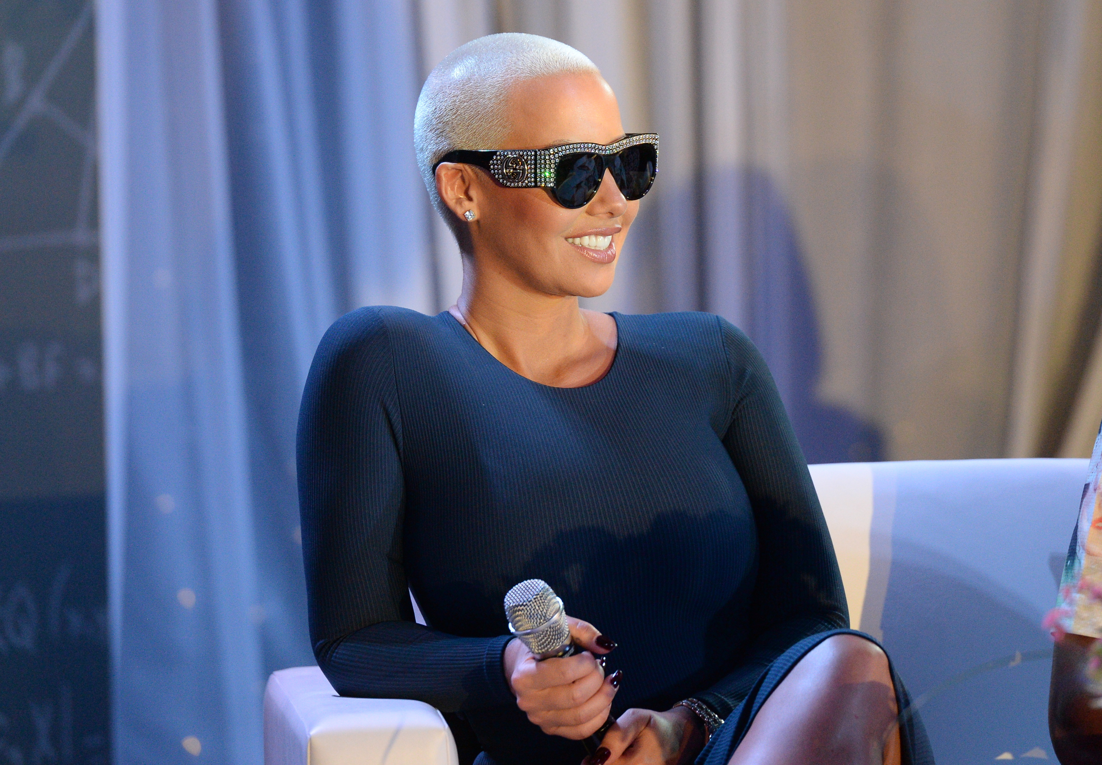 Amber Rose Joins 'KYST' Aids Awareness Tour For Atlanta