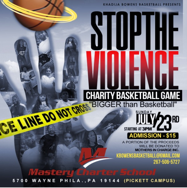 Stop The Violence BBall Game