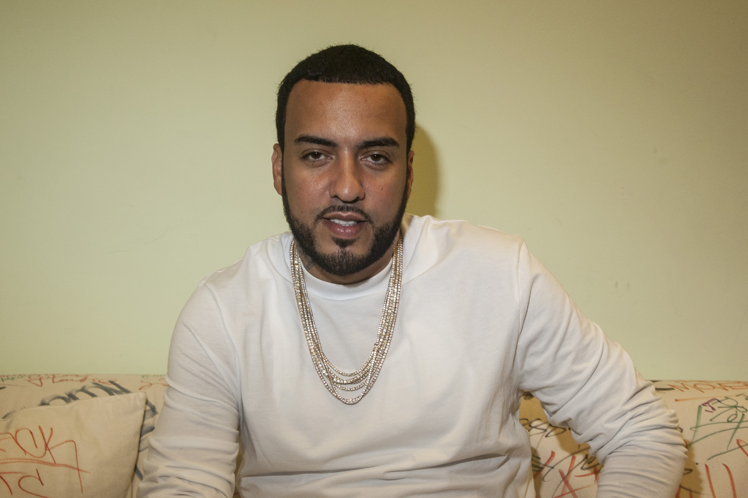 French Montana Visits Music Choice