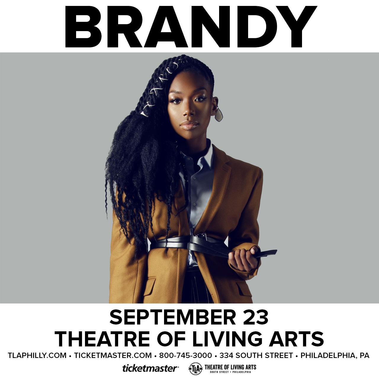 Brandy Concert Philly TLA sept 2017