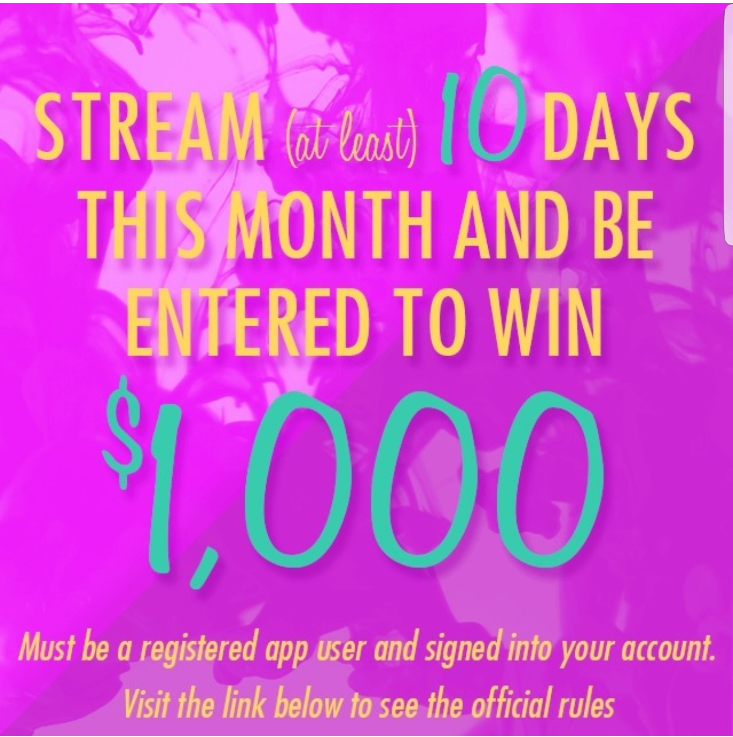 Clip 10day streaming contest - sept 17