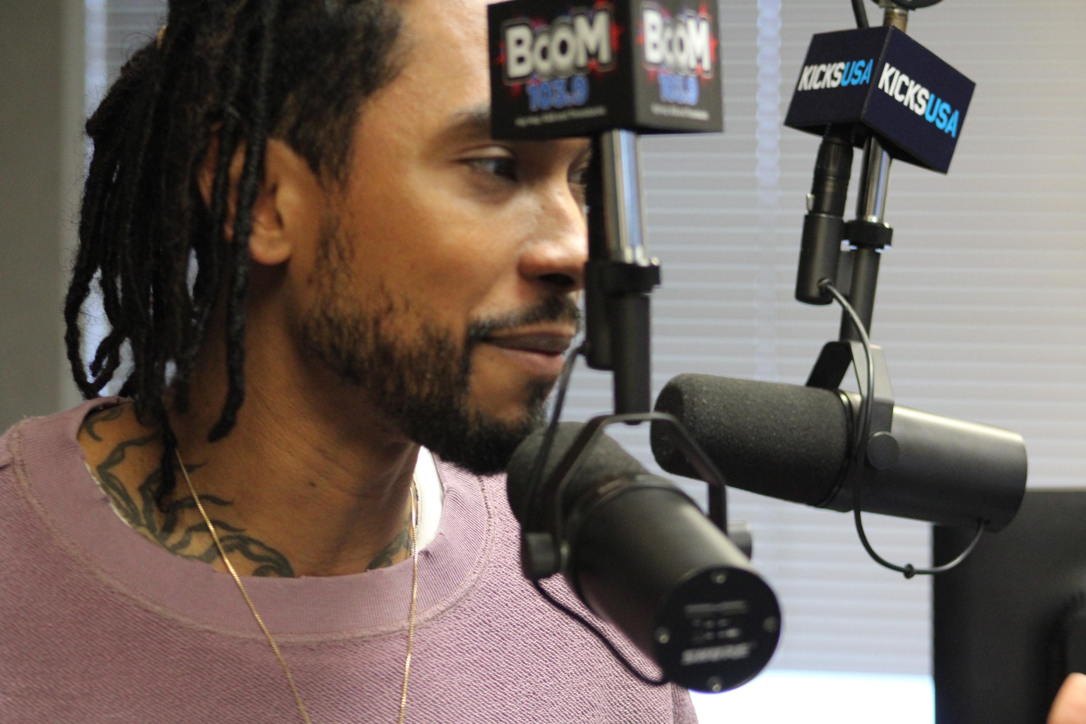 Miguel In Studio