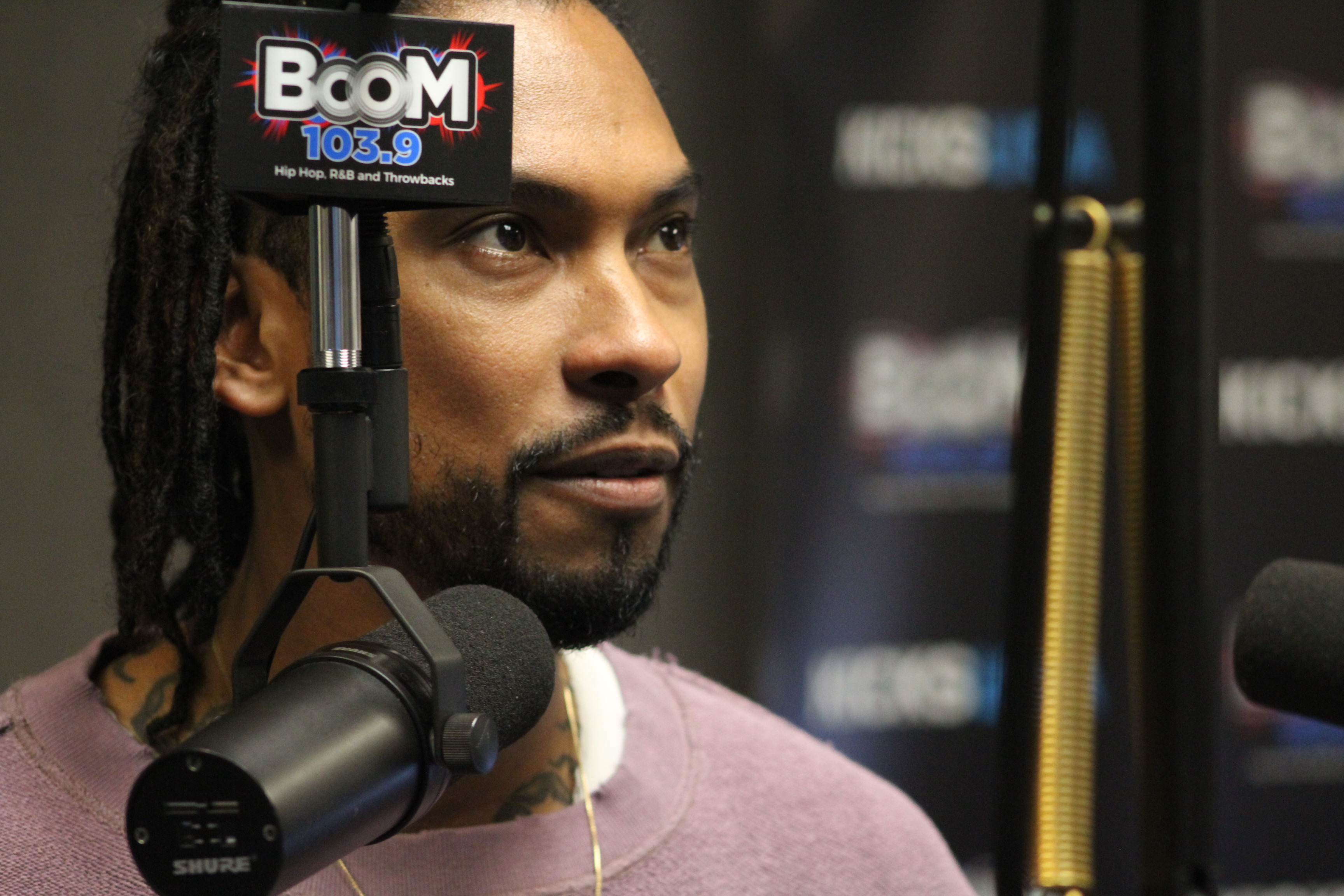 Miguel In Studio
