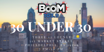 30 under 30 event info