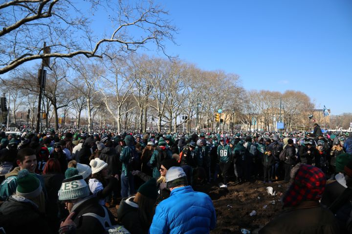 Eagles Parade 2018