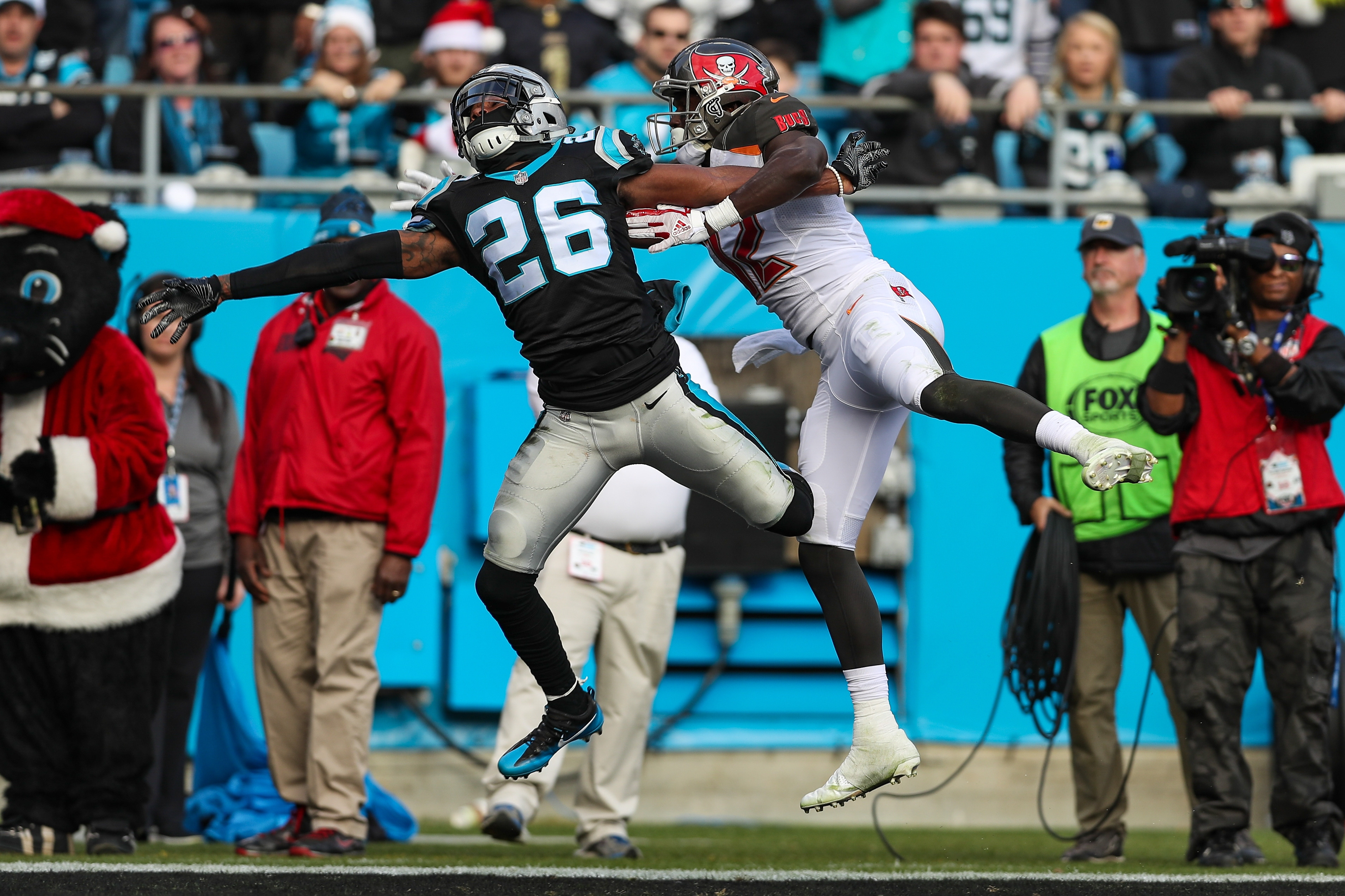 NFL: DEC 24 Buccaneers at Panthers