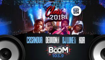 Boom 103.9 Class of 2018