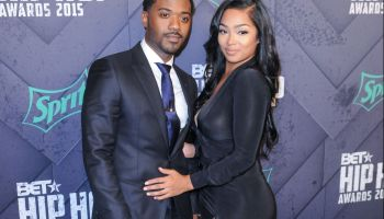 Ray J and Princess Love at the 2015 BET Hip-Hop Awards