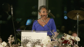 Cathy Hughes NYC Mission Society 2018