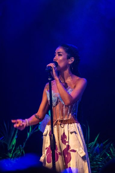 Jhene Aiko Live at Boom Philly Class Of 2018 (Photo Gallery