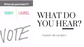 Yanny vs Laurel