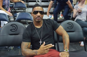 Celebrities Attend Boston Celtics vs Atlanta Hawks - NBA Playoffs - Game 2