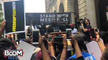 Freeway + Meek Mill at #Justice4Meek