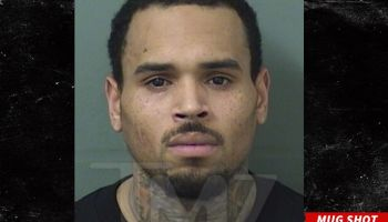 Chris Brown mugshot
