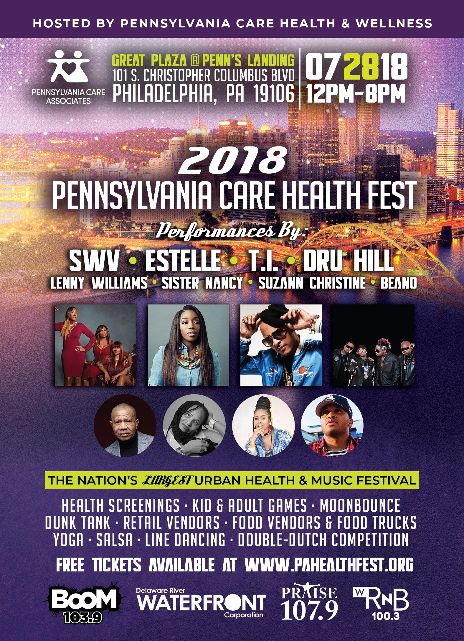 Pa health Care lineup