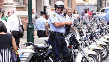 Trump protest at the Union League of Philadelphia