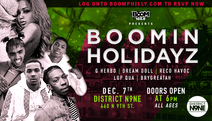 Boomin Holidayz