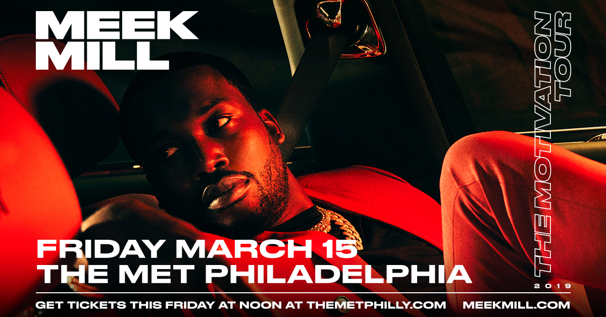 Meek Mill at The Met Philly