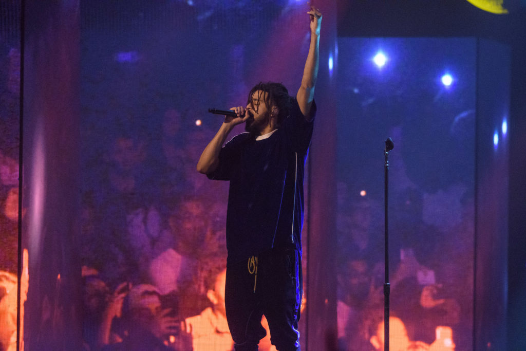 J. Cole Performs at Capital One Arena in Washington, D.C.