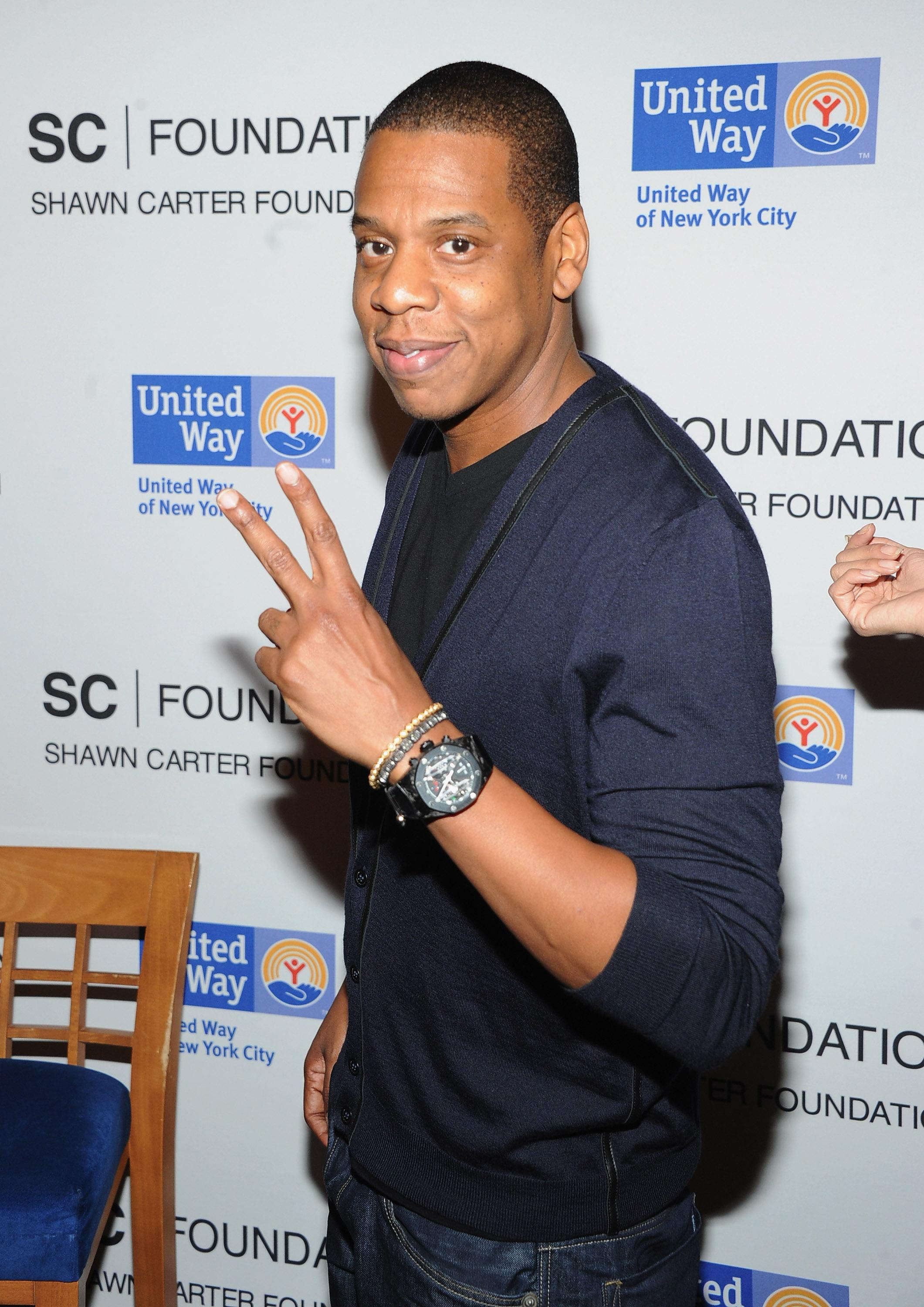 United Way Of New York City And The Shawn Carter Scholarship Foundation Announce 2 Jay Z Carnegie Hall Performances