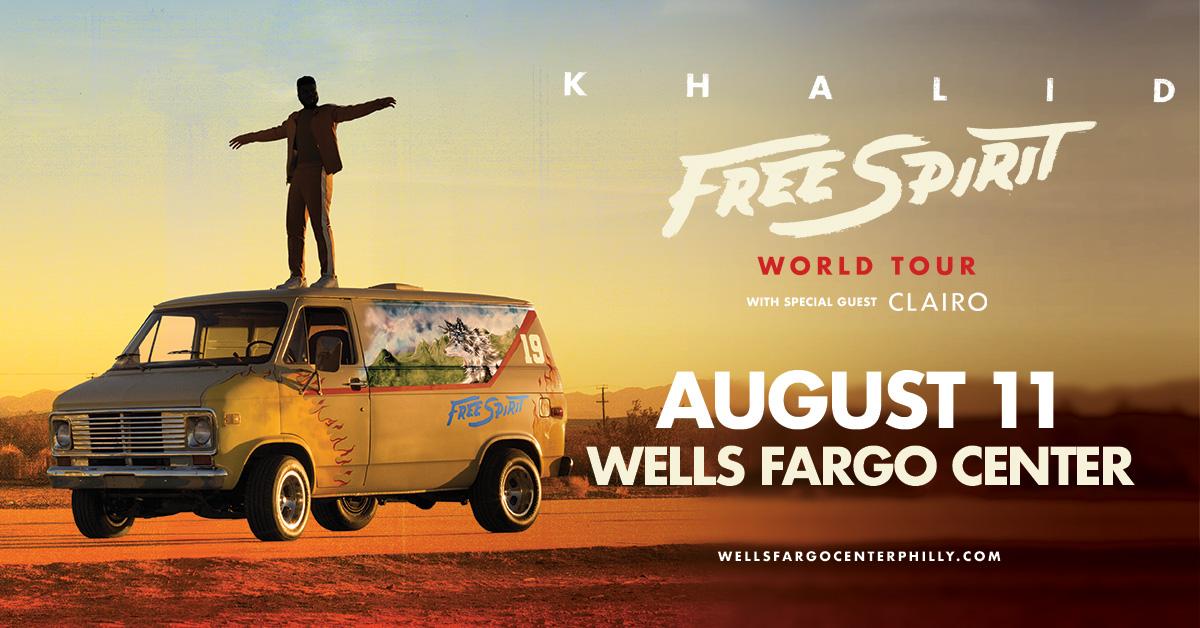 khalid wells fargo show