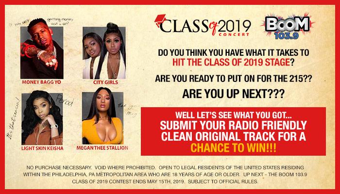 Boom 103.9 Class Of 2019 Contest_RD Philadelphia WPHI_April 2019
