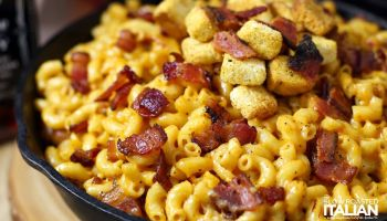 Jack Daniel's Smoky Bacon Mac and Cheese