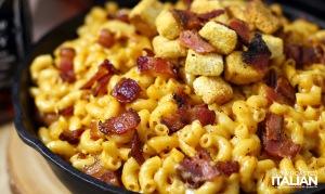 Jack Daniel's Smoky Bacon Mac and Cheese